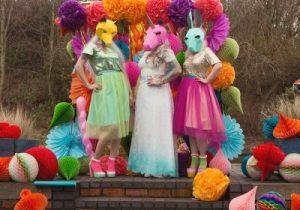 unicorn wedding dress
