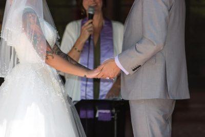 badass bride - real weddings
