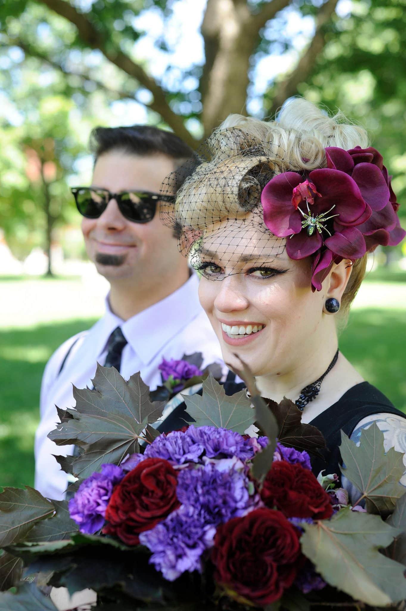 Baddass rocknroll bride