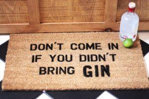gin floor matt