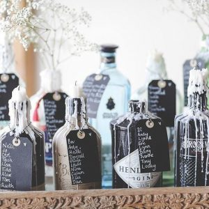Gin Themed Table Plan