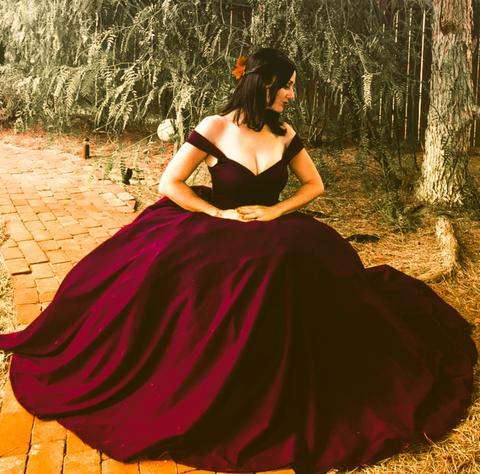 offbeat wedding dress