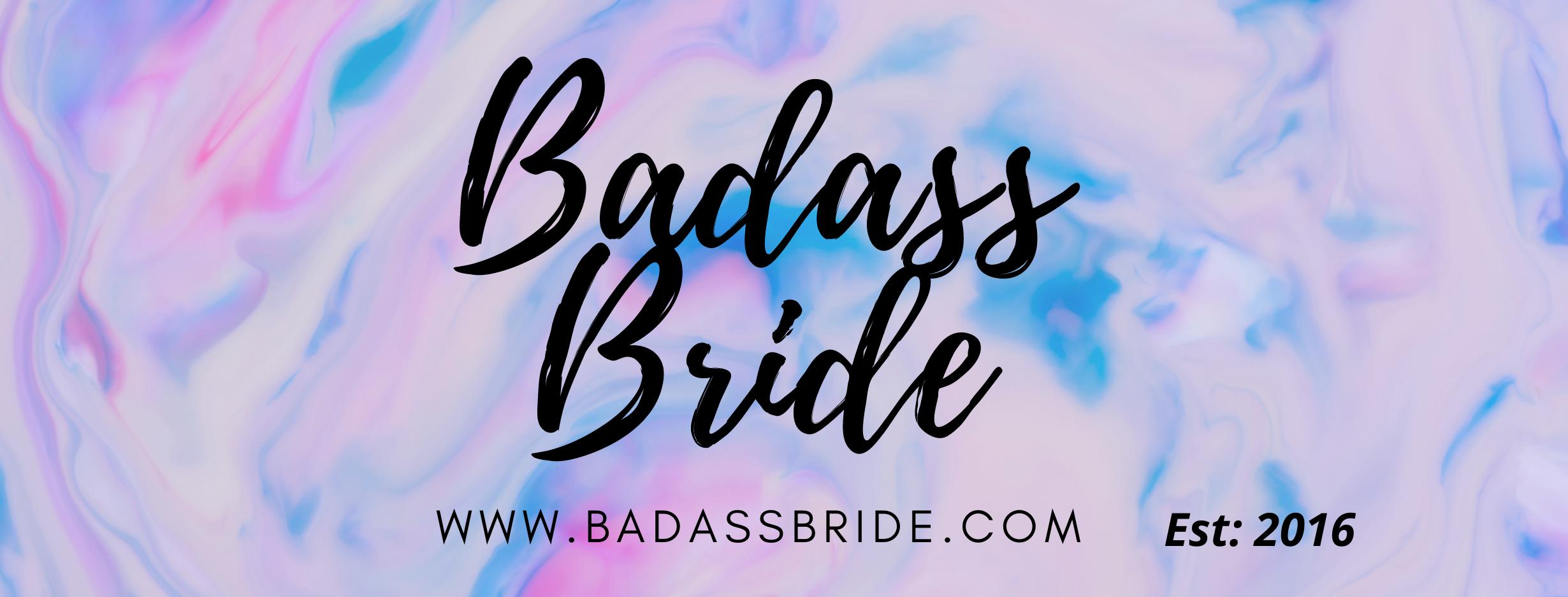 Badass Bride Unique wedding ideas